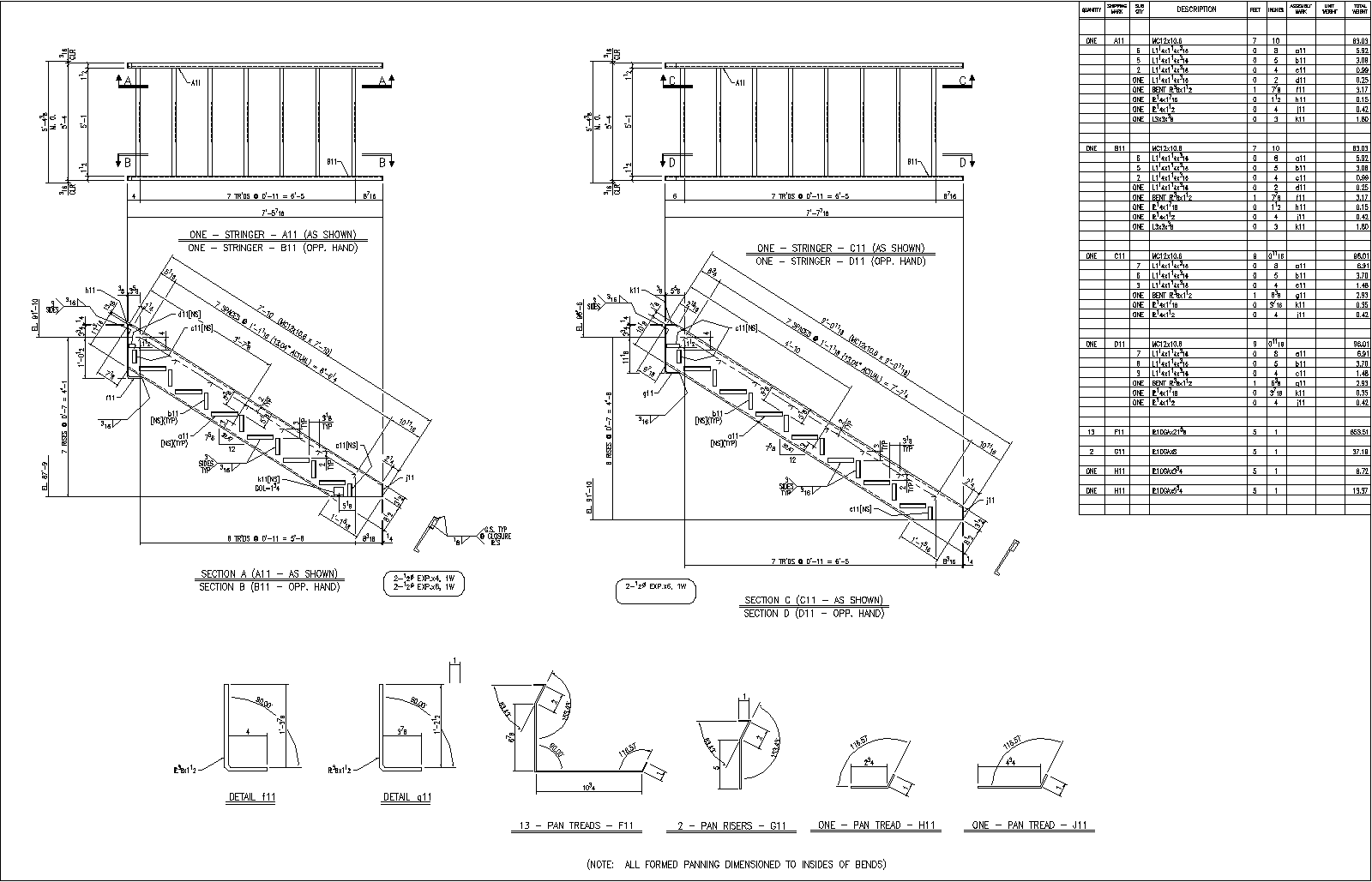 Uncategorized Staircase Detailing autosd steel detailing stairs rails sample drawings stair sheet railing sheet